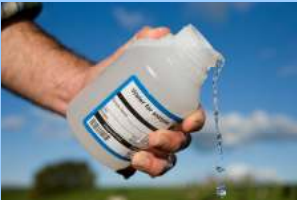 Water test bottle